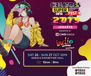 CSF2019 - Creators Super Fest 2019 Jakarta