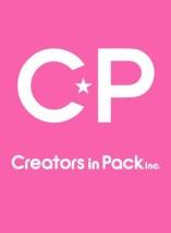Logo studio atau produser Creators in Pack