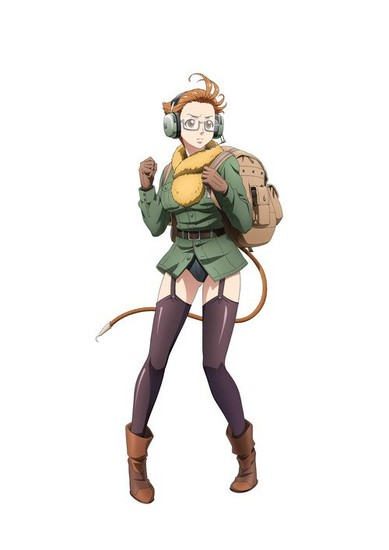 Hayami Saori sebagai Sharyuu, nama asli Yuuki Misaki