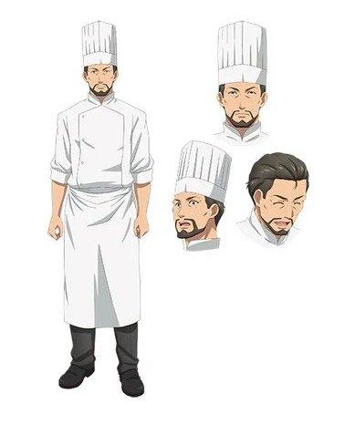Junichi Suwabe sebagai Pemilik Restoran